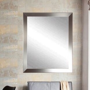 Brandt Works LLC Embossed Steel Wall Mirror