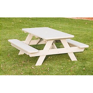 Park Solid Wood Picnic Table by POLYWOOD?