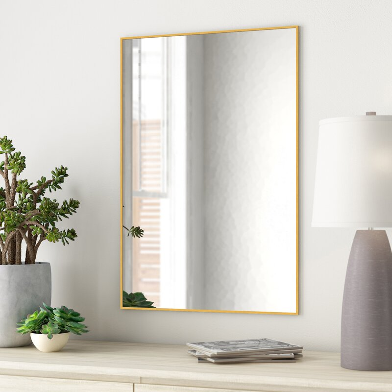 Zipcode Design Newtown Modern Contemporary Bathroom Vanity Mirror Reviews Wayfair