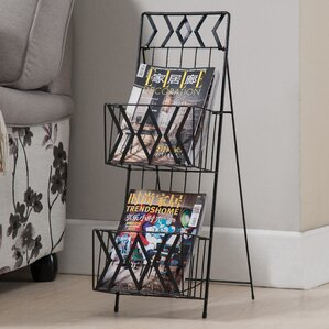 Helena 2 Tier Magazine Rack