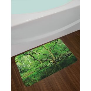 Forest Green Bath Rug