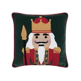 Mauldin Nutcracker King Throw Pillow
