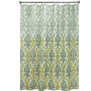Portico Polyester Shower Curtain by Bacova Guild