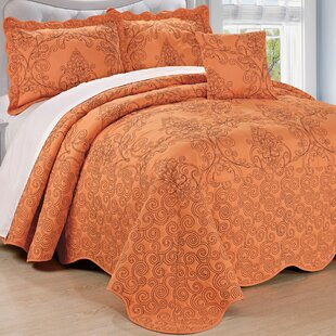 wayfair reversible zig quilt zag orange save burnt keyword set piece