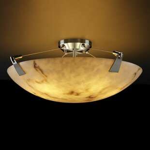 Keyon 6-Light Semi Flush Mount..