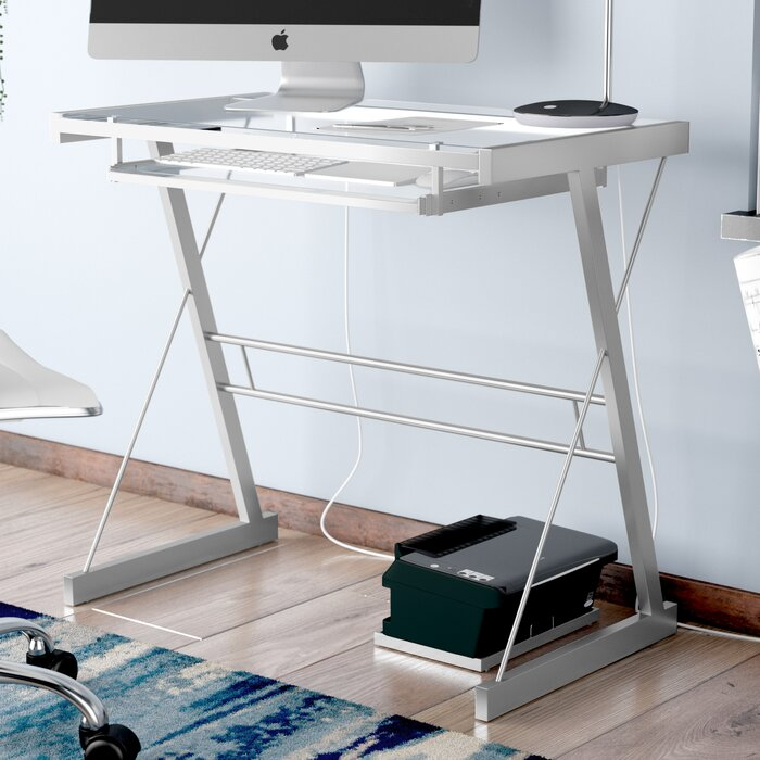 separation shoes 285b8 a3be3 Priya Metal and Glass Computer Desk