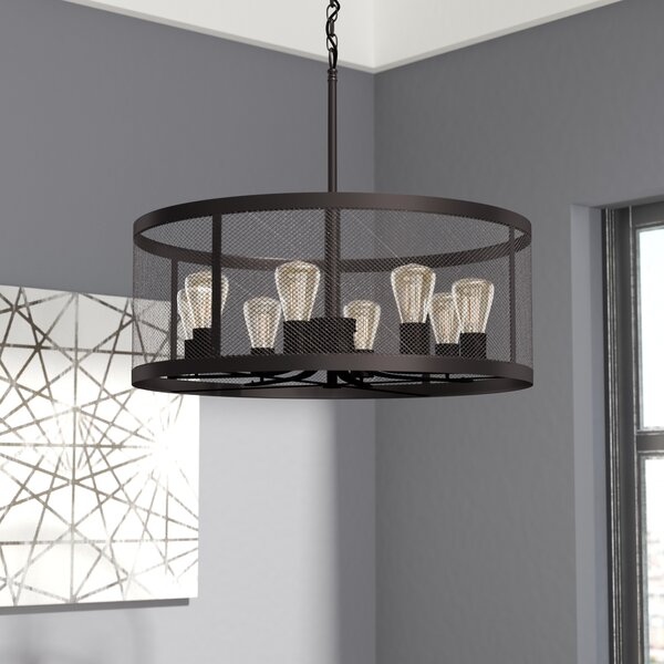 Trent Austin Design Clark 8 Light Drum Chandelier