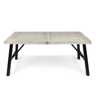 Menneken Wooden Dining Table by Gracie Oaks Coupon