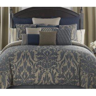 Gabion 4 Piece Reversible Comforter Set