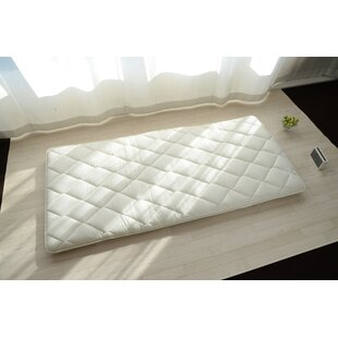Staton 50% French Wool Extra Thick Japanese Futon Mattress (4-Layered), Twin Size Made in Japan