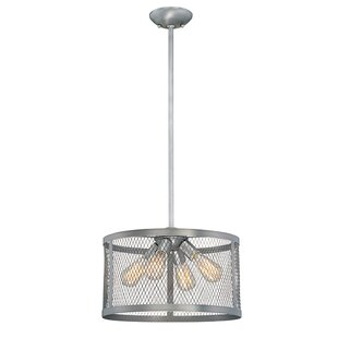 Bastien 4-Light Drum Chandelier