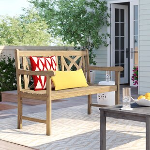 Manchester Wood Garden Bench by Sol 72 Outdoor Top Reviews
