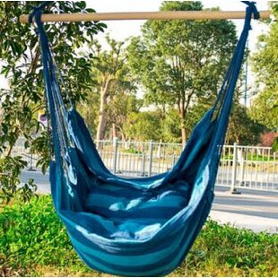 Axel Indoor/Outdoor Hanging Cotton Chair Hammock by Freeport Park