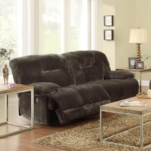 Shop Geoffrey Double Reclining Sofa by Woodhaven Hill