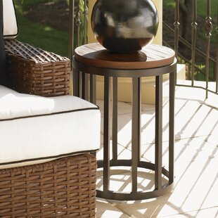 Purchase Ocean Club Pacifica Iron Side Table Look & reviews