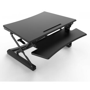 Height Adjustable Standing Desk Converter by Symple Stuff New Design