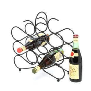 Jessica 12 Bottle Tabletop Wine Rack by F..