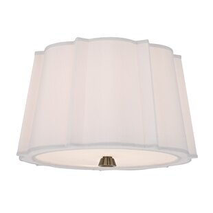 Menik 2-Light Semi Flush M..