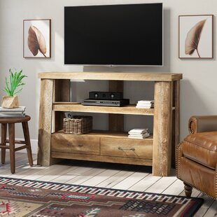 Buy clear Kasandra TV Stand for TVs up to 47 by Mistana Reviews (2019) & Buyer's Guide
