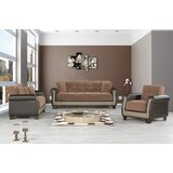 Aghnadarragh Full 89 Tight Back Convertible Sofa by Red Barrel Studio®