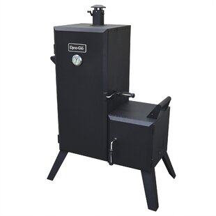 Double Door Charcoal Smoker By Dyna-Glo
