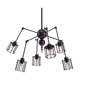 Williston Forge Covarrubias 6-Light Sputnik Chandelier