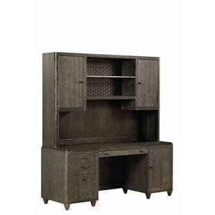 Hackney Executive Desk With Hutch by Gracie Oaks Best #1