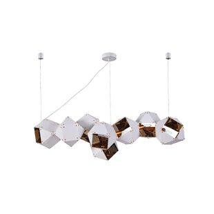 Pisano 8-Light Geometric Chandelier by Orren Ellis