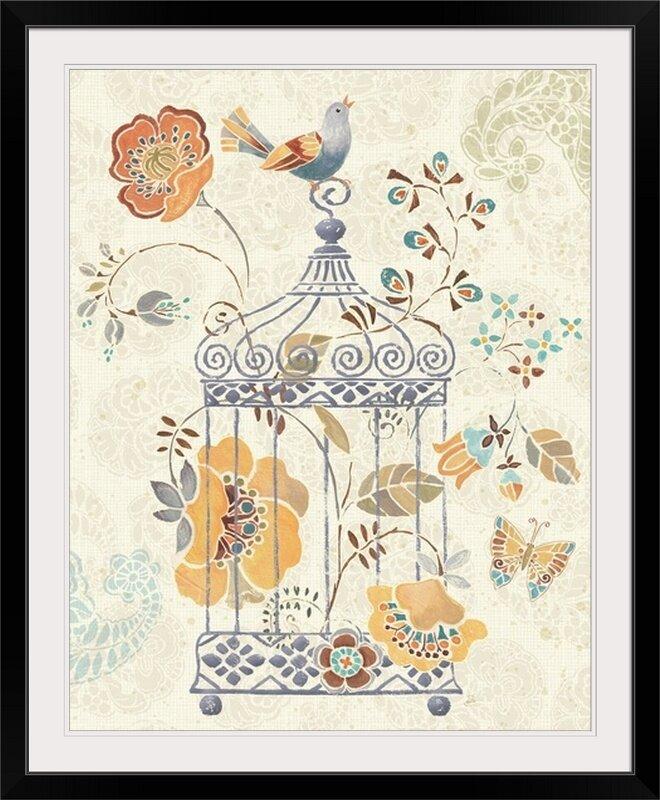 20 x 28 Free Bird I Poster Print by Daphne Brissonnet
