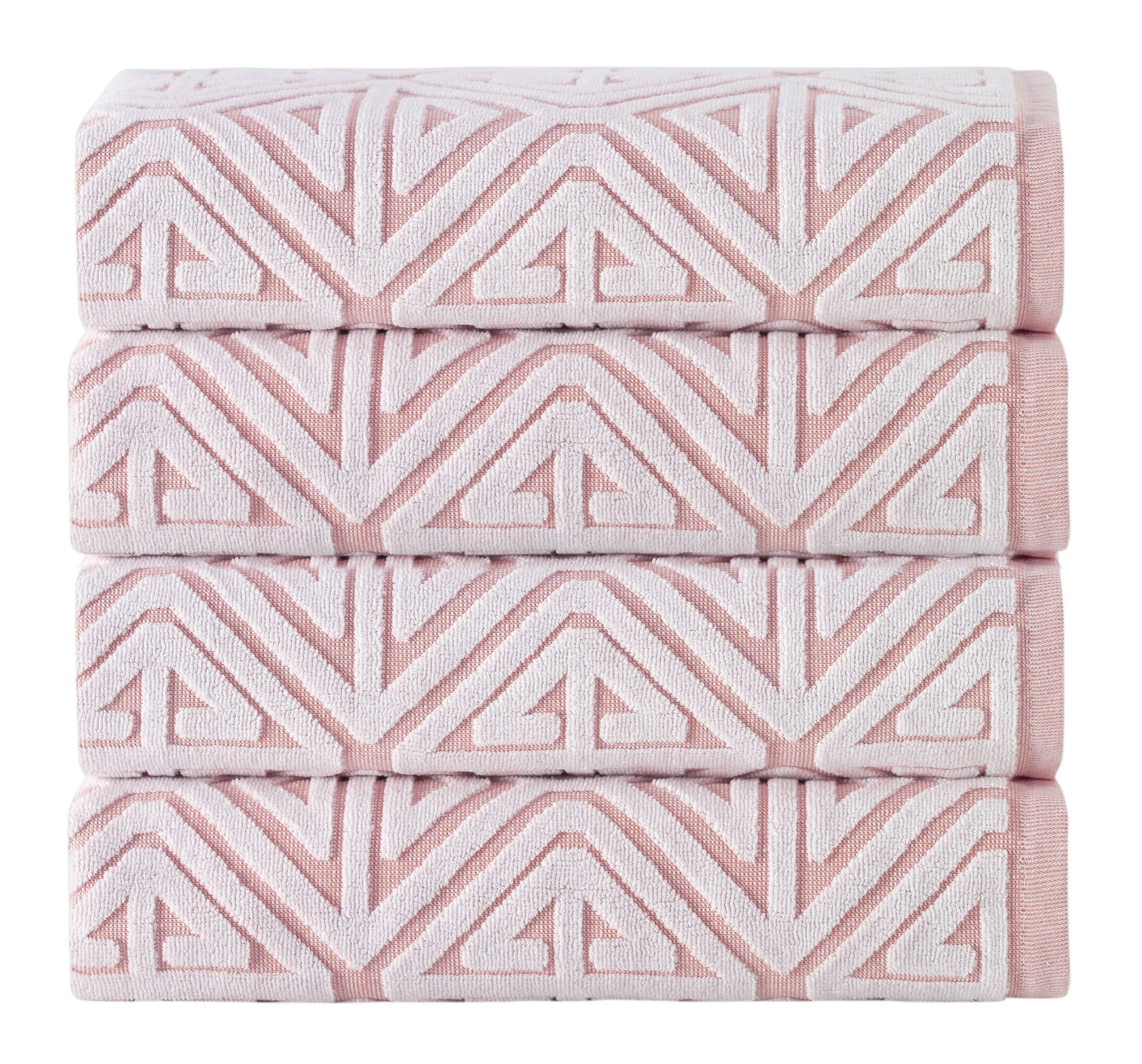 Brynn 4 Piece 100 Cotton Bath Towel Set Reviews Allmodern