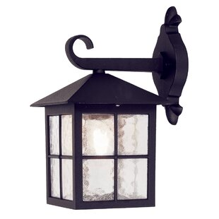 Deals Popovich Down Outdoor Wall Lantern By Charlton Home