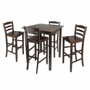 Parkland 5 Piece Dining Set by Luxury Home