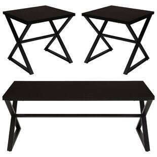 Affordable Hohman 3 Piece Coffee Table Set By Charlton Home