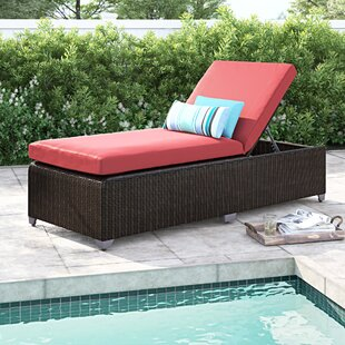 Fairfield Chaise Lounge with Cushion by Sol 72 Outdoor