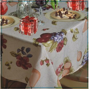 Wolfforth Fruits Vintage Design Printed Tablecloth