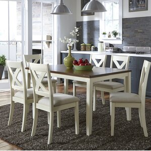 Stingley 7 Piece Breakfast Nook Dining Set