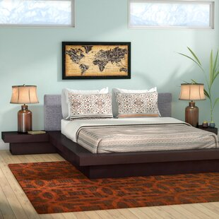 Rennan Queen Platform 3 Piece Bedroom Set