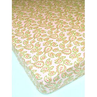 Inexpensive Esme Fitted Crib Sheet ByElizabeth Allen Atelier
