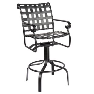 Ramsgate Swivel Bar Stool by Woodard 2019 Coupon