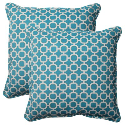 Pillow Perfect Hockley Corded Outdoor Throw Pillow