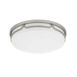 Laster 1-Light LED Flush M..