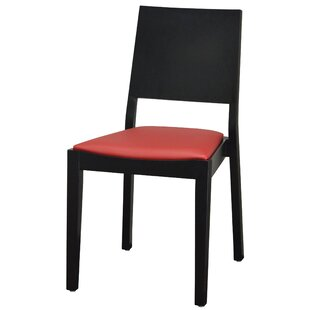 DHC Furniture Modern Style Stacking Upholstered Dining Chair