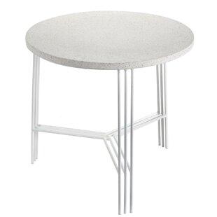 Gaitan Terrazzo End Table by Ivy Bronx