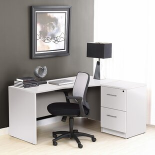 Buragate Desk And Filing Cabinet Set by Latitude Run Best