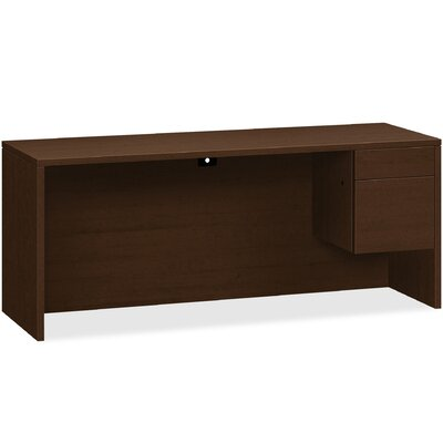 10500 Series Executive Desk HON Orientation Right Color Mahogany