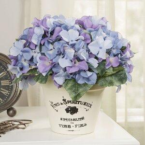 Buy Faux Blue Hydrangea!