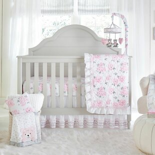 A Galbraith Crib Bedding Set Set Of 4