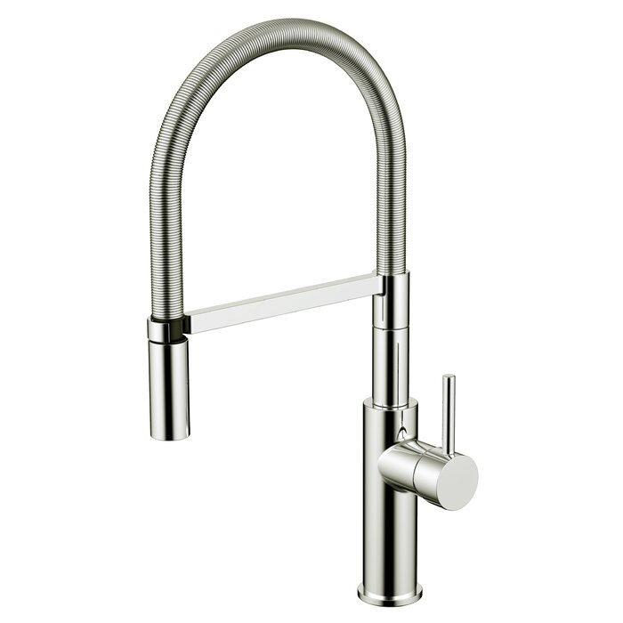 Daweier Pull Out Single Handle Kitchen Faucet