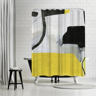 PI Creative Art Valiant Ii Single Shower Curtain