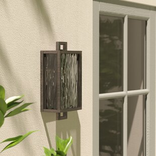 Borkowski Outdoor Sconce by Mercury Row